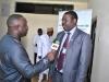 Prof Babatunde Rabiu (President AGS) speaking to Press